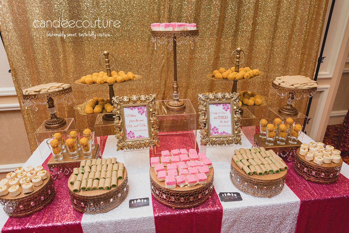 Mithai Table For Freddy Amp Purvi S Wedding Candee Couture