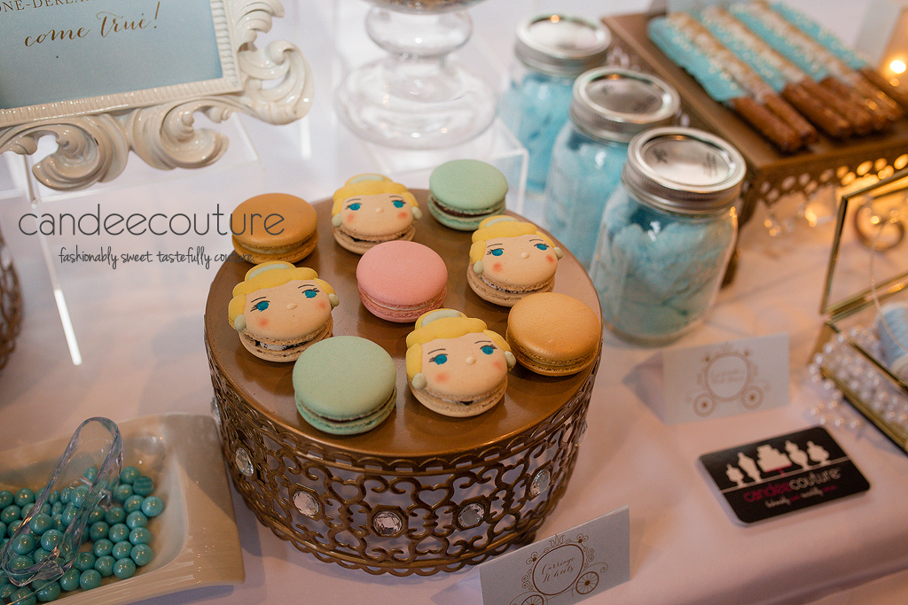 Cinderella theme macarons, Cinderella macarons, Cinderella theme dessert table, glass slipper, Cinderella theme table, Cinderella theme backdrop, Cinderella theme macarons, Cinderella theme party, birthday, Cinderella theme, Cinderella's ball