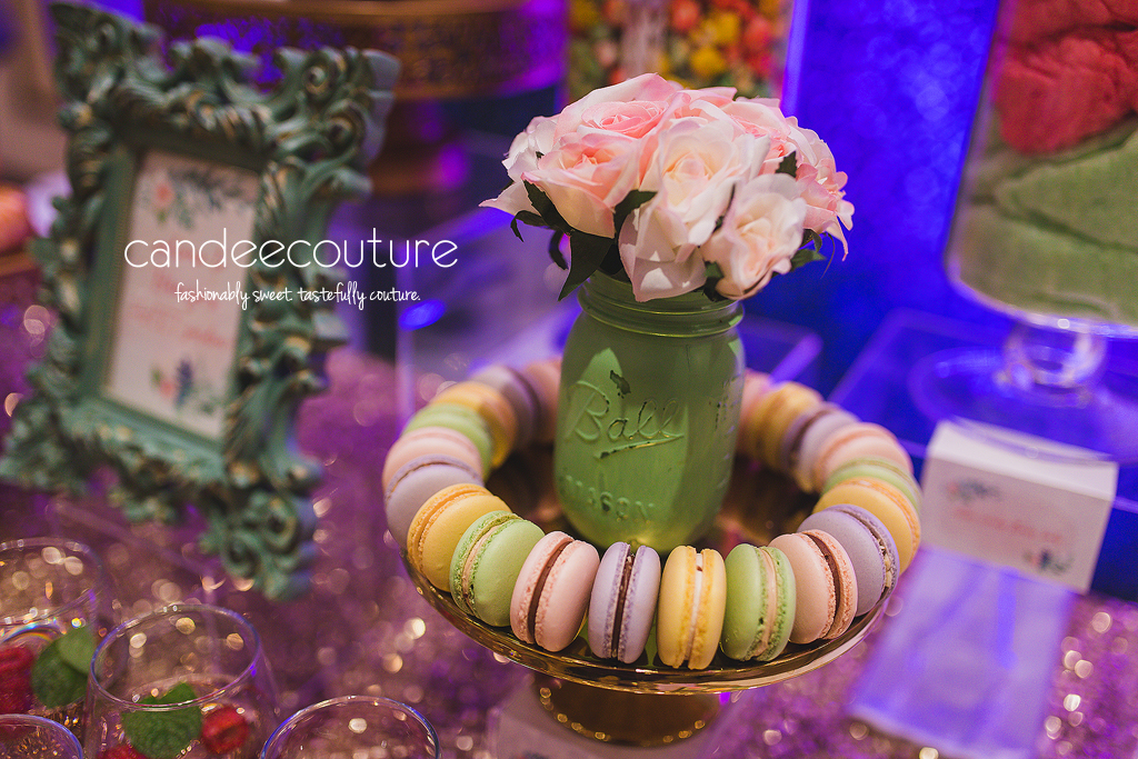 Floral Macarons, Macarons, Floral Sweets, Flower Treats, Garden Sweets, Garden Macarons, Floral Dessert Table by Candee Couture, Flower Dessert Table by Candee Couture, Floral Dessert Table, Dessert, Sweet Treats, Candy Table, Dallas Texas, Plano Texas, Floral Sweet Table, Floral Backdrop, Garden Backdrop, Candee Coture, Floral Treats, Flowers