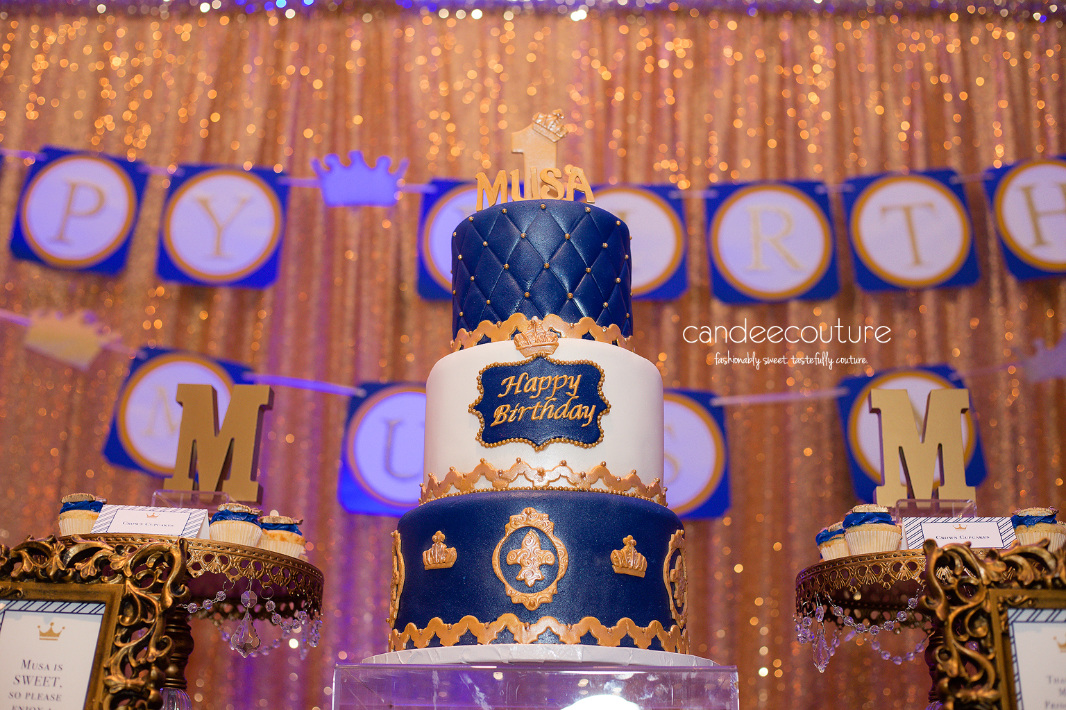 Royal prince theme cake, prince cake, royal prince cake, prince theme sweet table, royal prince theme table, gold backdrop, royal prince cake, royal prince party, birthday, royal prince theme