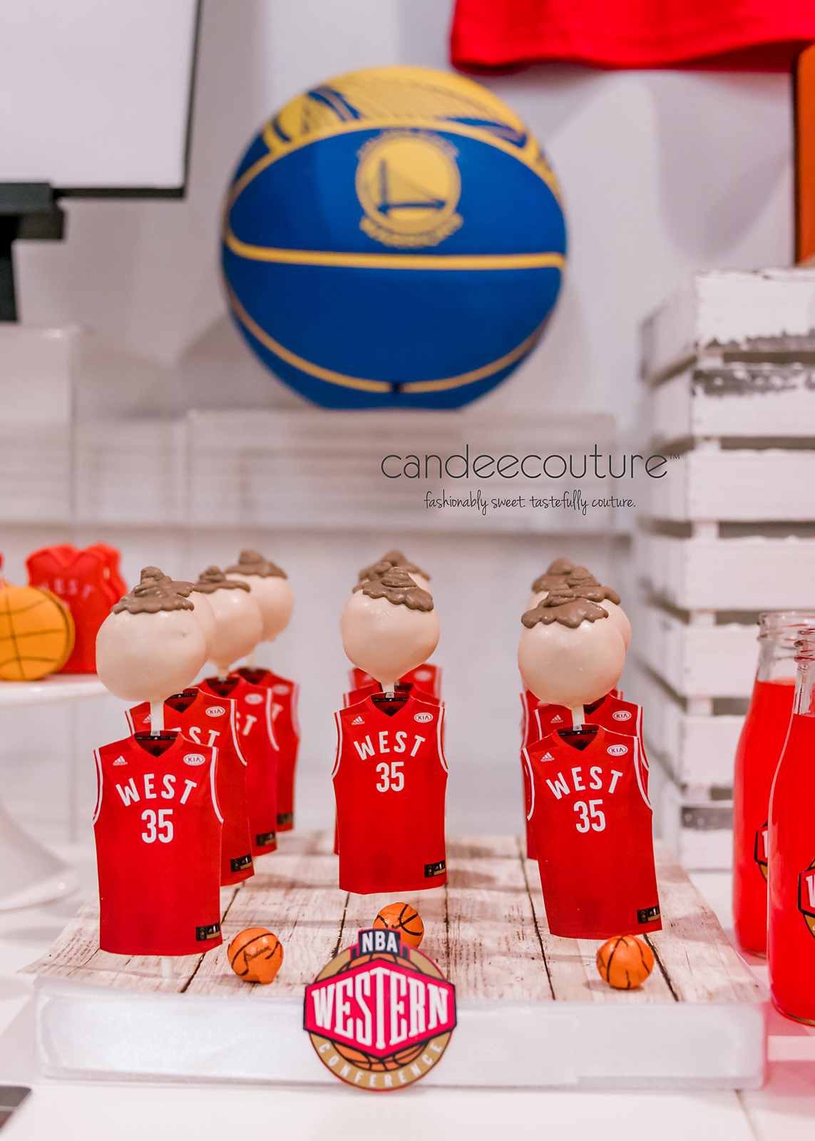 golden state warriors dessert table, warriors sweet table, NBA jersey cake pops, NBA cake pops, western conference cake pops, NBA western conference cake pops, NBA western conference all-star cake pops, Basketball treats, NBA basketball cake pops, NBA All-star desserts, candy table, sweet table, nba themed party, golden state warriors party, nba all-star theme party, birthday, nba all-star theme, nba cake, basketball, basketball desserts nba theme table, nba all-star theme table,