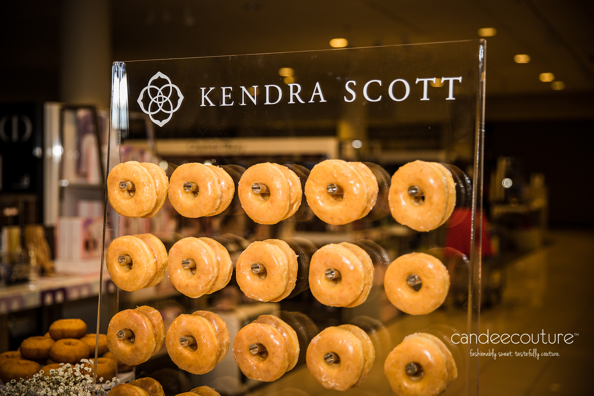 Kendra Scott Donut Wall, Kendra Scott, Donut Wall, Nordstrom, NorthPark Center, NorthPark, Donuts, Dont Bar, Sweet table