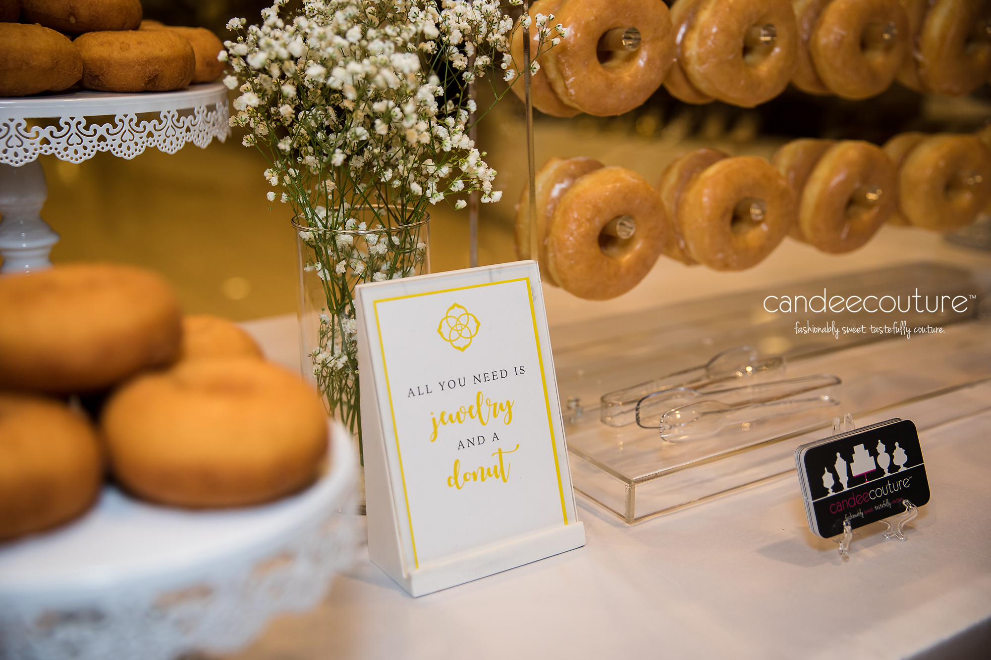 Donut display, corporate event, Donut Wall, Nordstrom, NorthPark Center, NorthPark, Donuts, Dont Bar, Sweet table