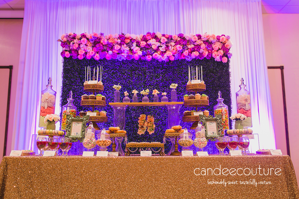 dessert table, floral dessert table, floral backdrop, floral cake pops, floral cookies, floral macarons, garden party, garden theme, flower backdrop,