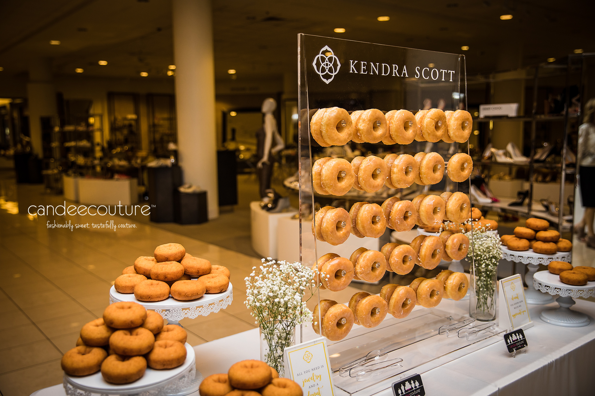 Donut Bar, Kendra Scott Donut Wall, Kendra Scott, Donut Wall, Nordstrom, NorthPark Center, corporate event