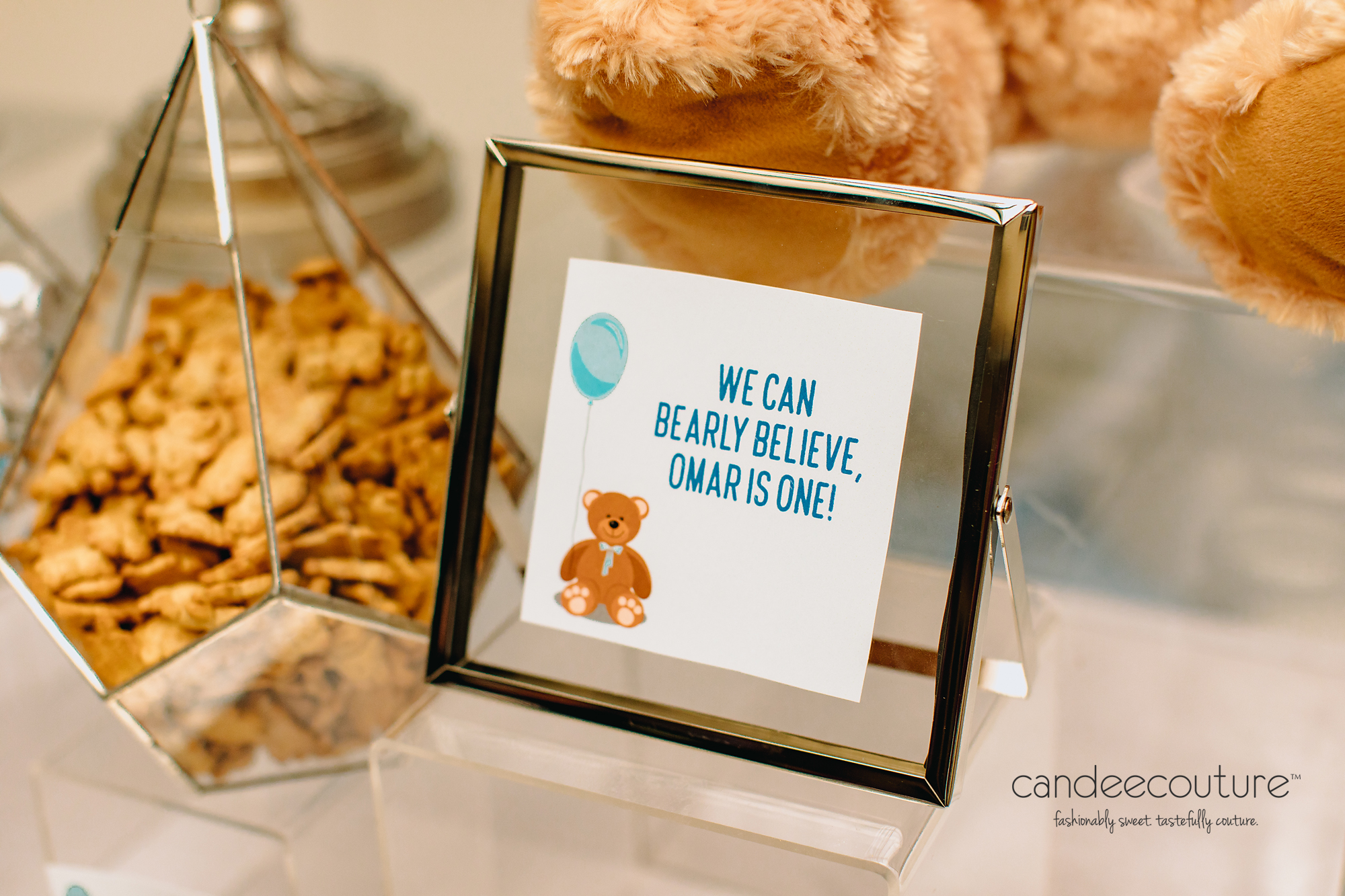 Frame, Personalized Frame, Frames, Bear Themed Signage, Teddy Bear Signage, Teddy Bear Frame, Themed Signs, Teddy Sign, Teddy Bear Theme, Teddy Bear, Teddy Theme, teddy bear Dessert, birthday party Dessert, Modern Dessert, Modern Sweet Table, Dallas, Modern Birthday